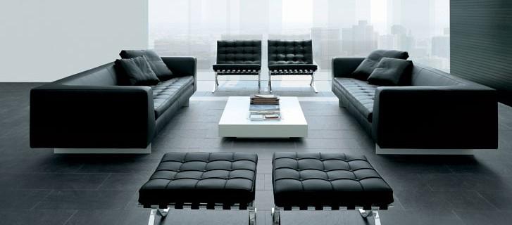 studio m design :: i nostri prodotti - Divano In Pelle Nera Letto