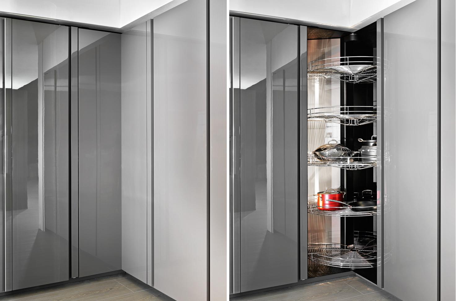 Mobili da cucina dispense design casa creativa e mobili for Mobili e design